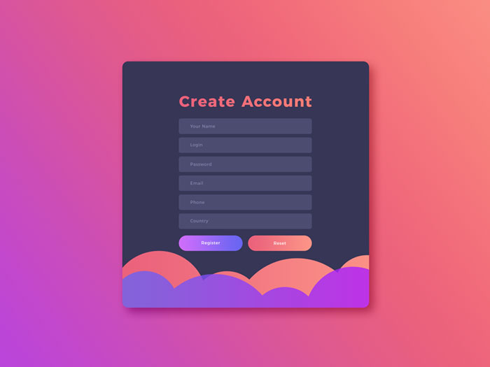 Free-Create-Account-UI-GUI,-UX-Design-Template