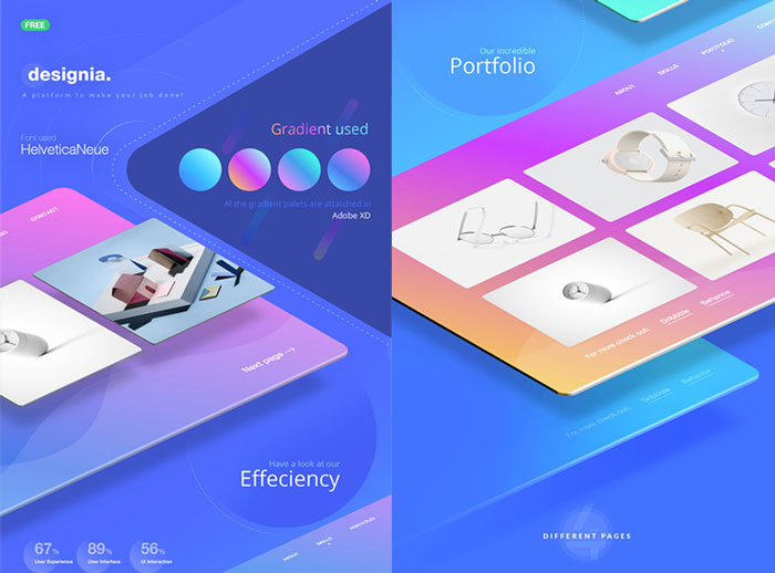 Free-Design-Agency-Landing-Page-Concept-UI-Design-Kit