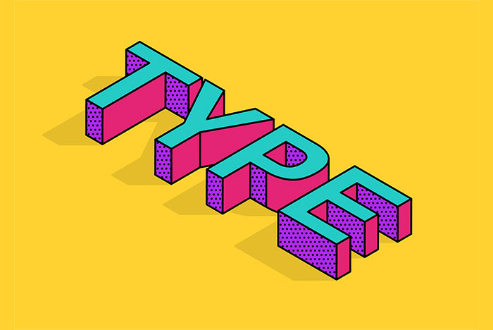 How-To-Create-an-Isometric-Type-Effect-in-Adobe-Illustrator