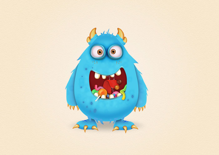 How-to-Create-a-Candy-Monster-Character-in-Adobe-Illustrator