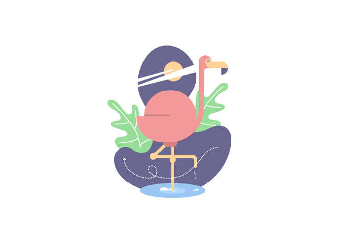 How-to-Create-a-Geometric-Flamingo-Bird-in-Adobe-Illustrator