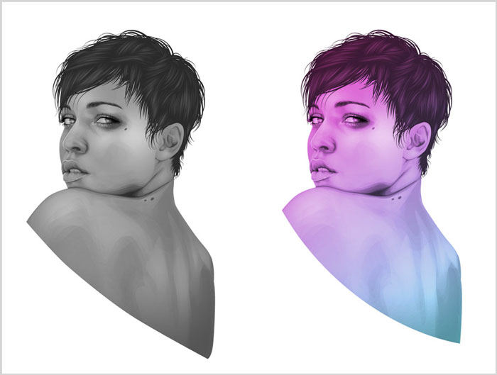 How-to-Create-a-Portrait-With-One-Colour-in-Adobe-Illustrator