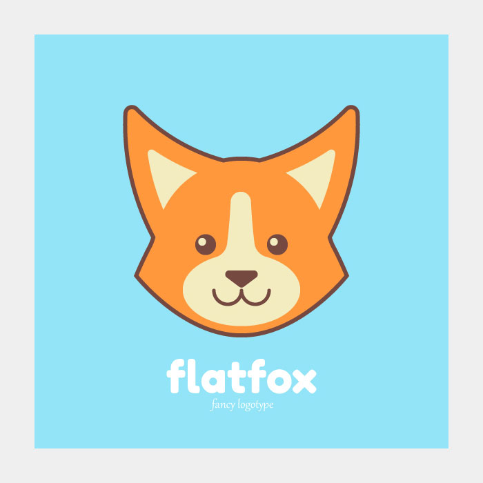 How-to-Create-a-Simple-&-Cute-Fox-Logotype-in-Adobe-Illustrator
