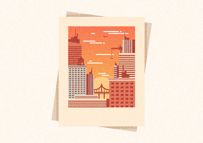 How-to-Create-a-Textured-City-Snapshot-Illustration-in-Adobe-Illustrator