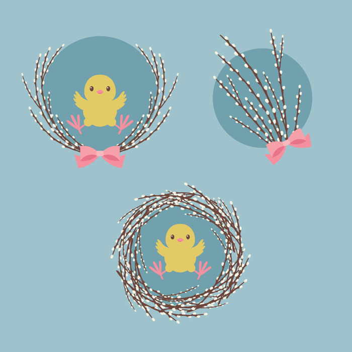 How-to-Create-an-Illustration-of-Pussy-Willow-With-a-Chick-in-Adobe-Illustrator