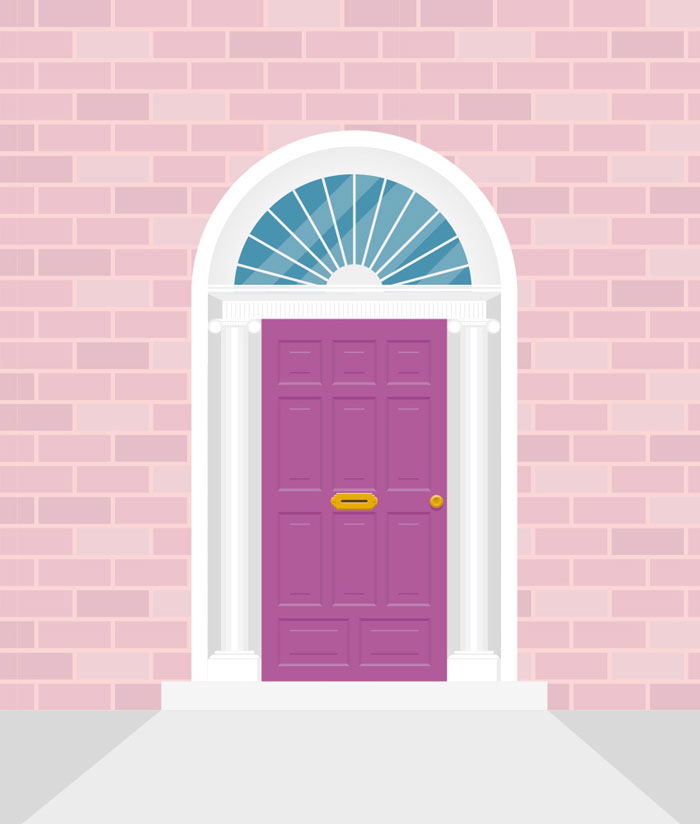How-to-Create-an-Irish-Door-Illustration-in-Adobe-Illustrator