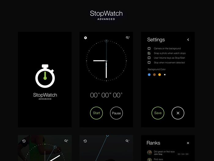 StopWatch-Free-UI-KIT