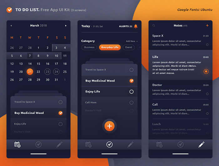 To-Do-List-App-Free-UI-Kit