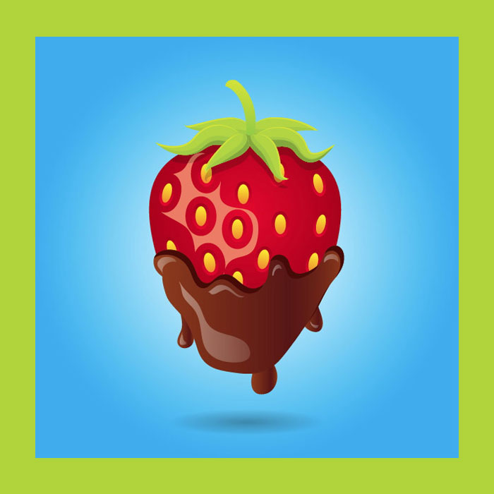 Valentine's-Day-Sweets-Chocolate-Covered-Strawberry-Vector-Illustrator-Tutorial