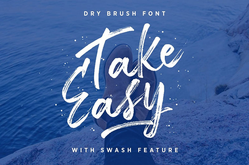 09-TakeEasy-Dry-Brush-Font-2018-0