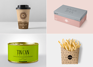 50 Free Best PSD Packaging Mockups For Professional Designers