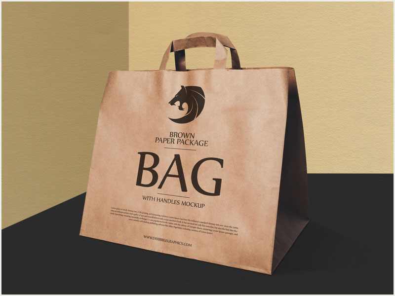 Free-Brown-Paper-Package-Bag-With-Handles-Mockup