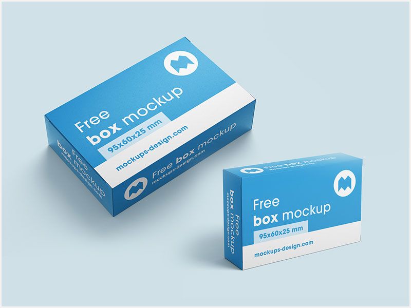 Free-Packaging-Box-Mockup