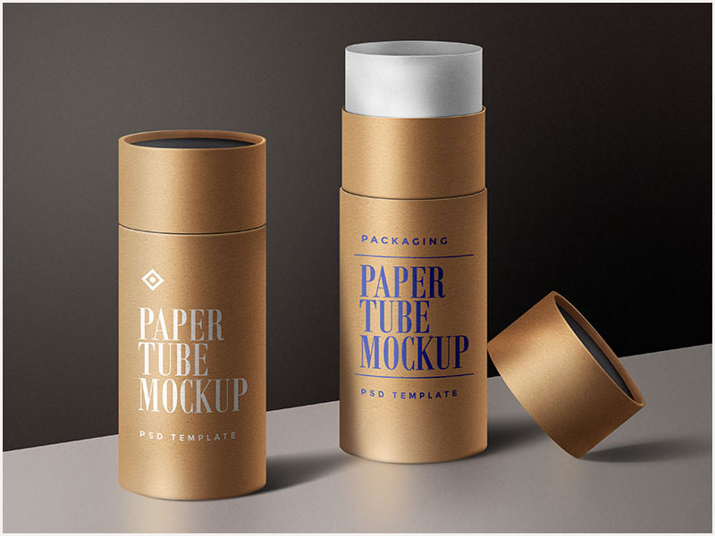 Free-Paper-Tube-Packaging-Mockup-Template