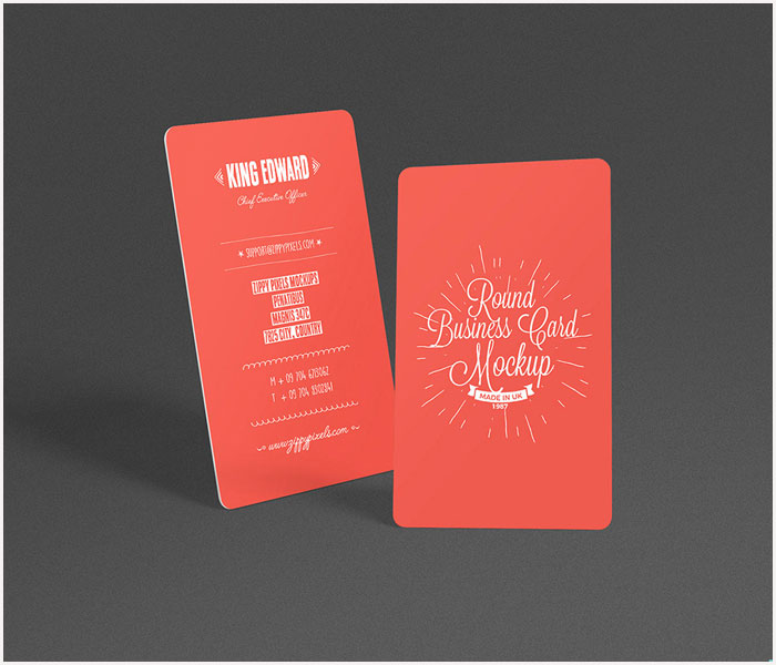 Free-Round-Business-Card-Mockup