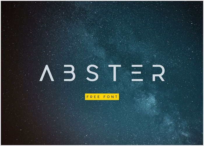Abster-Free-Typeface-19