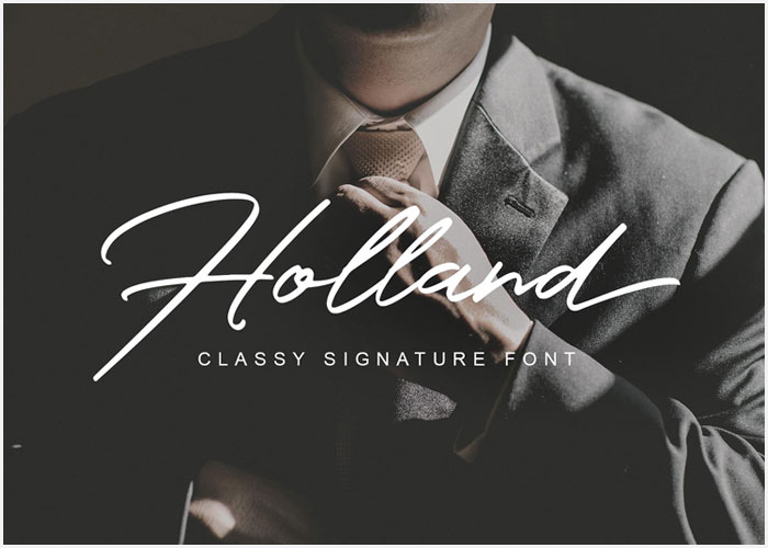 Free-Holland-Classy-Signature-Font-22
