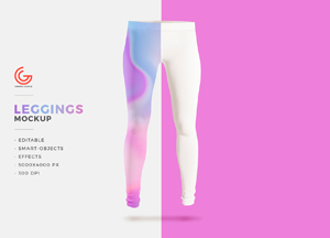Free Leggings Mockup PSD