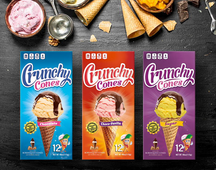 Crunchy-cones-packaging-design