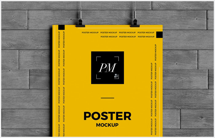 Free-Hanging-Over-Wall-Poster-Mockup-PSD-10