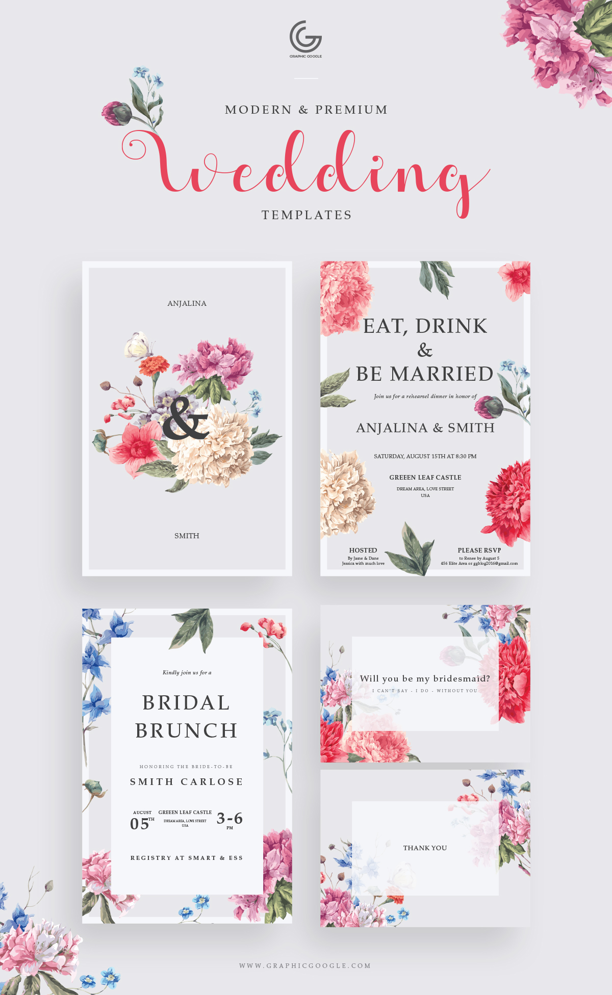 Free-Modern-&-Premium-Wedding-Invitation-Templates-2018