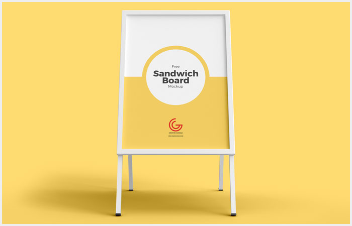 Free-Outdoor-Advertisement-Sandwich-Board-Mockup-PSD-26