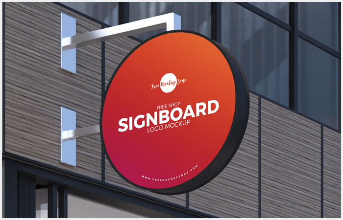 Free-Shop-Sign-Board-Logo-Mockup-PSD-7