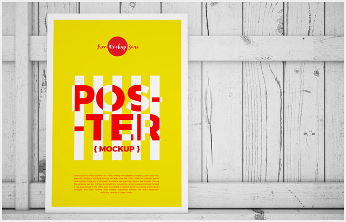 Free-Standing-Poster-on-Wood-Mockup-18
