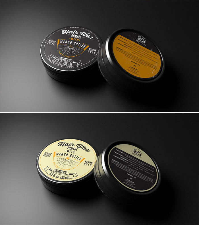 Hair-Wax-Pomade-Packaging