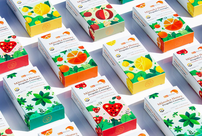 Manuka-Honey-Propolis-Candies-Packaging-Design
