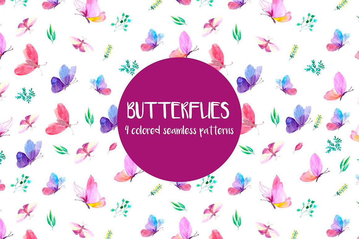 butterflies-watercolor-vector-free-pattern-4
