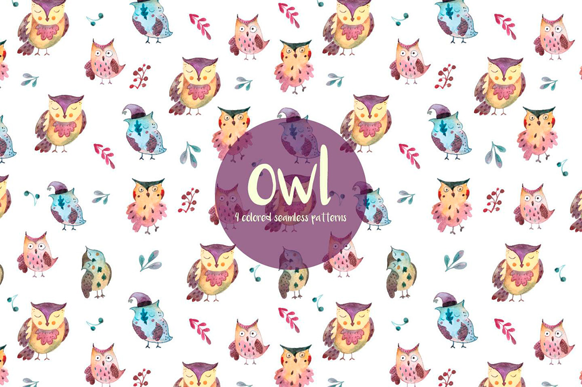 owls-watercolor-vector-seamless-free-pattern-1-1