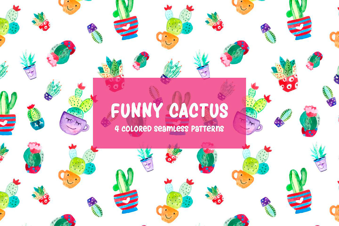 watercolor-funny-cactus-vector-free-pattern-3