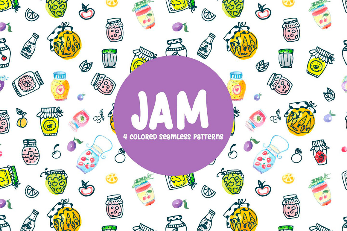 watercolor-jam-vector-seamless-free-pattern-4