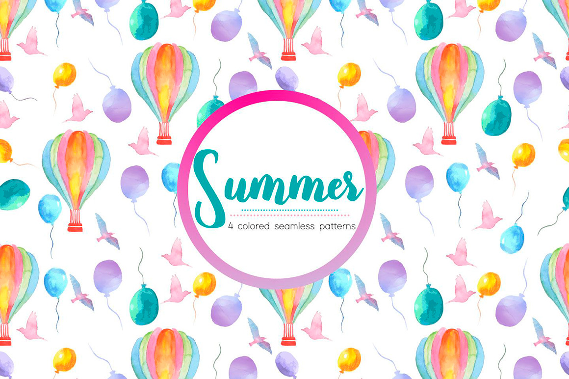 watercolor-summer-holidays-vector-free-pattern0