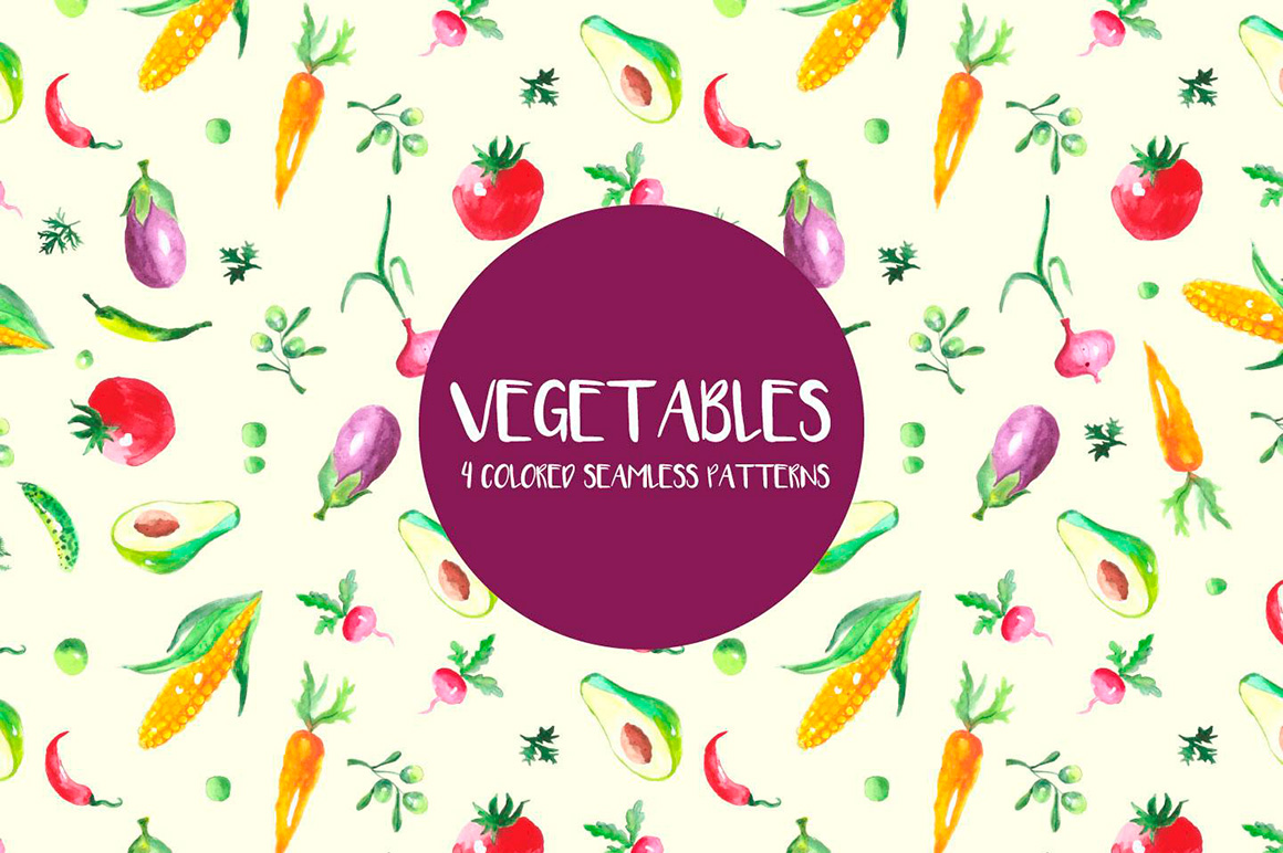 watercolor-vegetables-vector-seamless-free-pattern-2