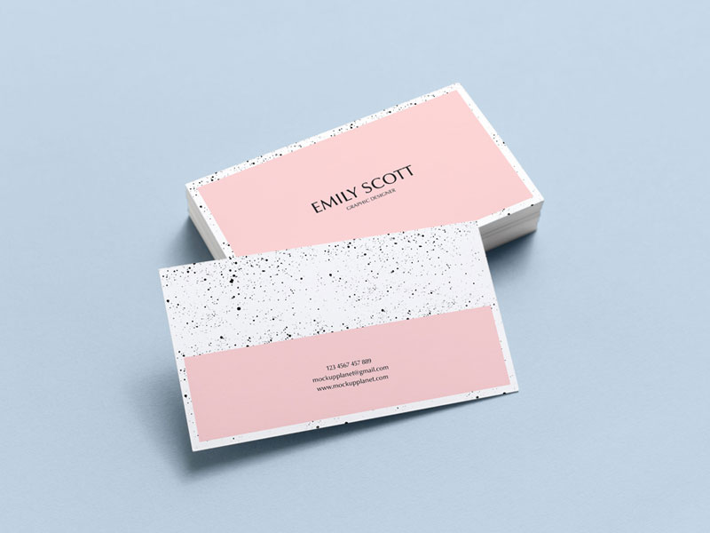 Free-Brand-Business-Card-Mockup-PSD-For-Presentation