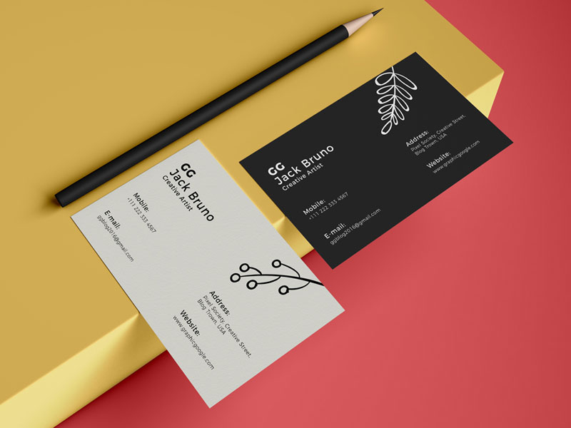 108 Business Card Mockup Psd Templates Download For Free
