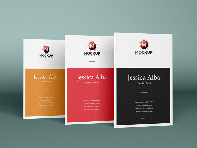 Free-Brand-Vertical-PSD-Business-Cards-Mockup-Design