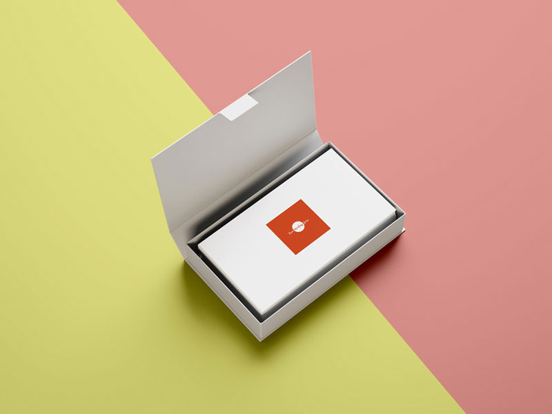 Free-Business-Cards-In-Box-Mockup-Psd