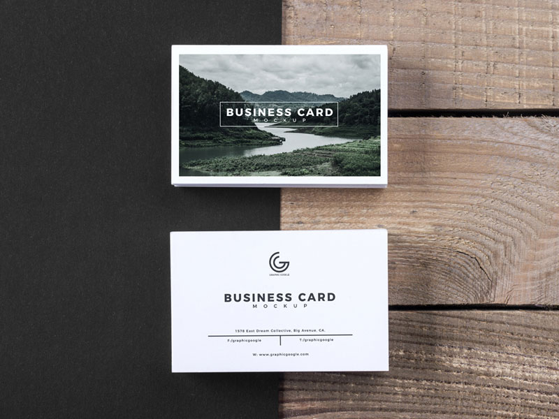 Free-Modern-Business-Card-Mockup-Psd
