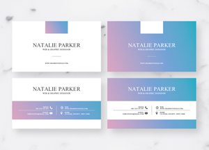Business cards archives graphic google tasty graphic designs free modern holo style business card design templates 2018 wajeb