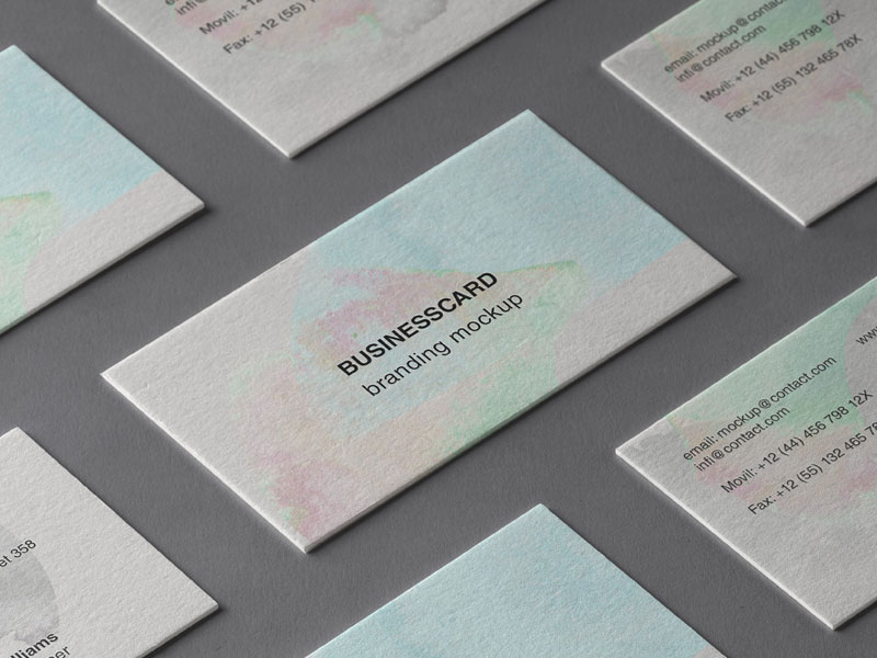 Free-Psd-Business-Card-Branding-Mockup