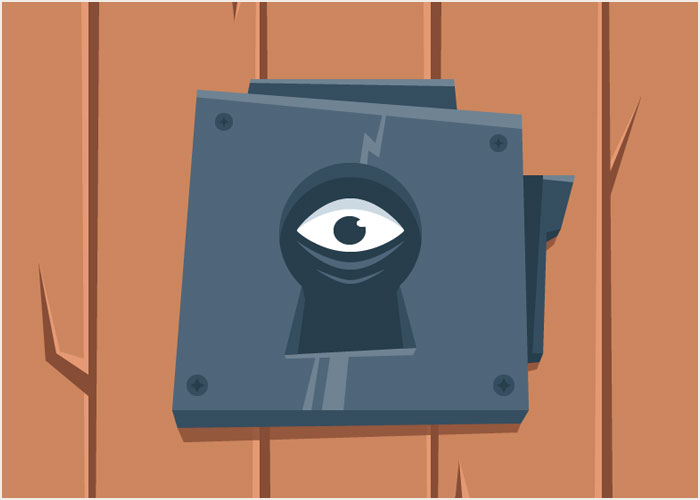 Create-a-Scary-Look-Through-The-Keyhole-Illustration-in-Adobe-Illustrator