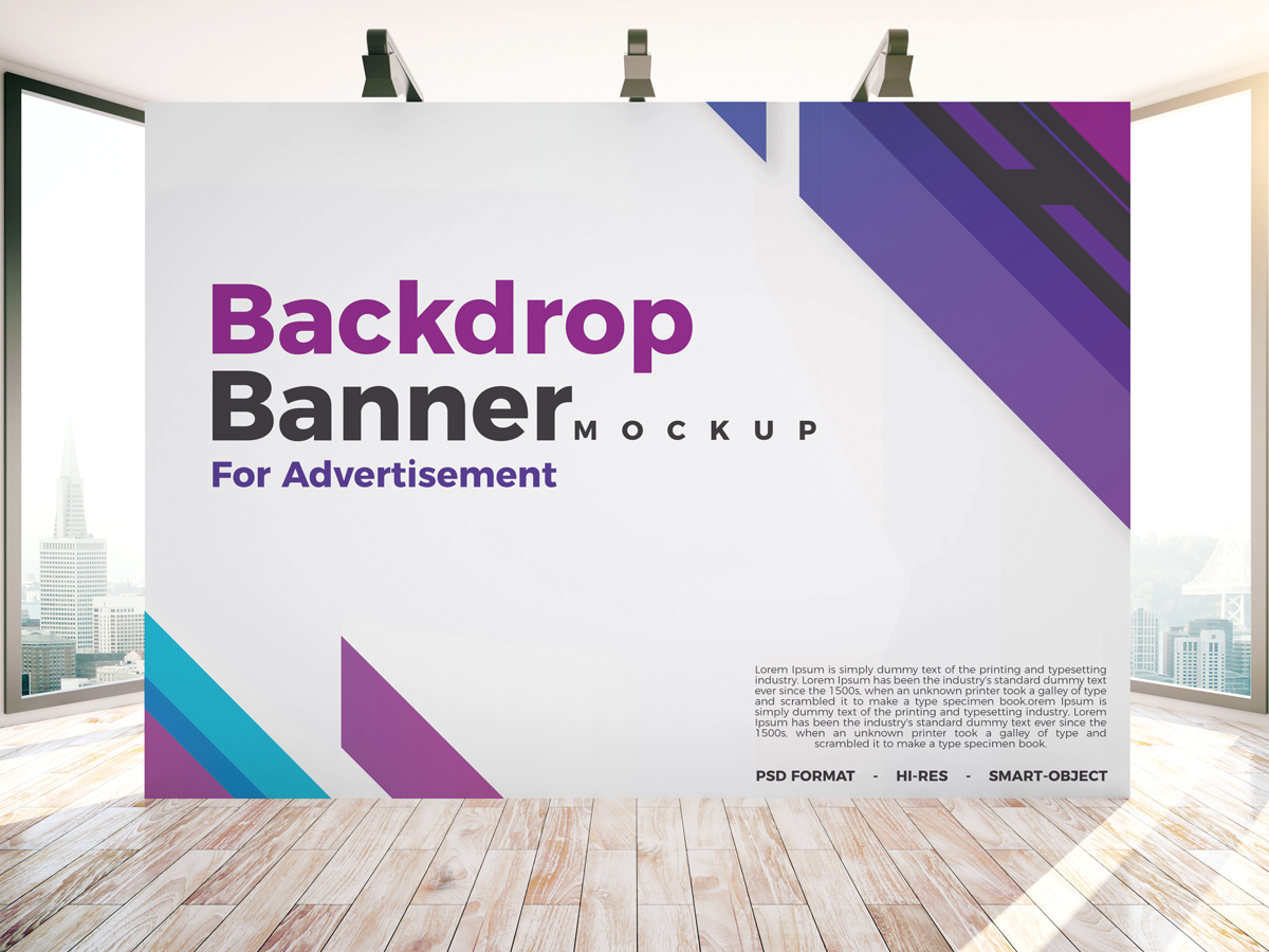 Free-Backdrop-Banner-Mockup-PSD-For-Indoor-Advertisement