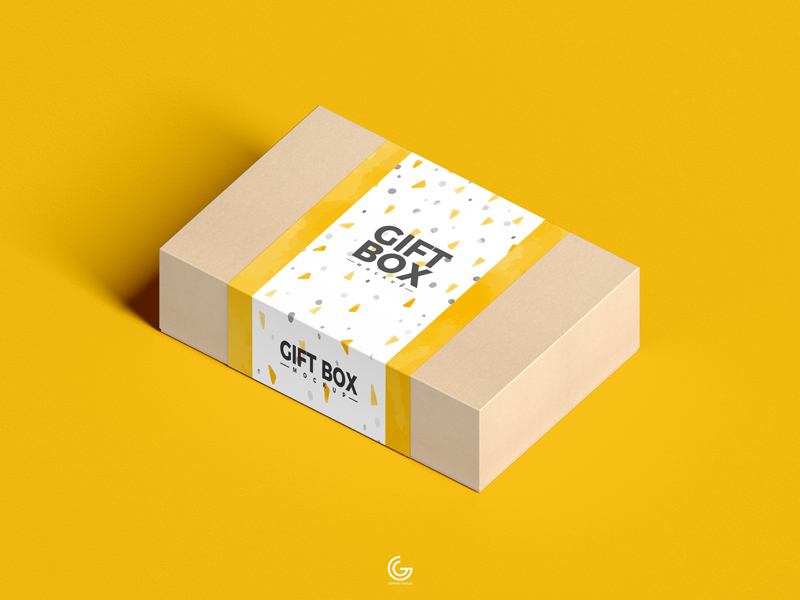 Free-PSD-Craft-Paper-Gift-Box-Mockup-1