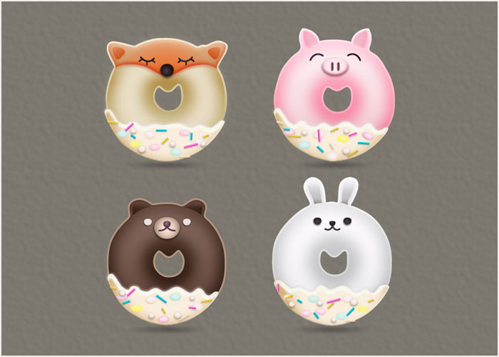 How-to-Create-Animal-Donuts-Designs-in-Adobe-Illustrator