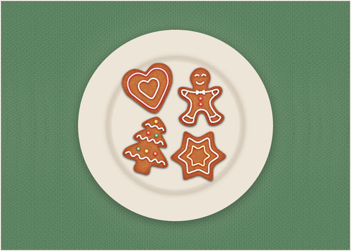 How-to-Draw-Gingerbread-Cookie-Icons-in-Adobe-Illustrator