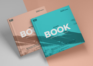 Free Brand Book Mockup For Cover Presentation
