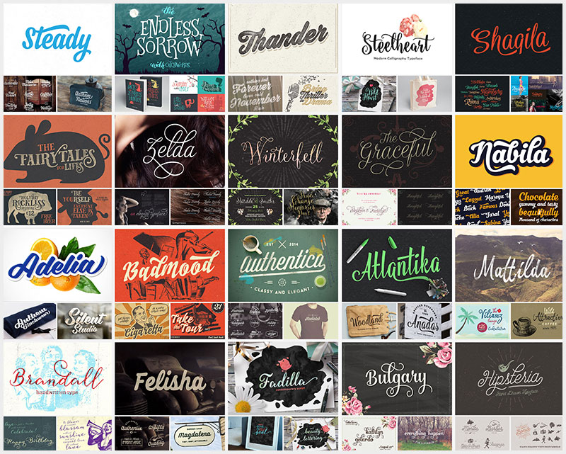 20-Gorgeous-Script-And-Display-Typefaces-For-2019-600